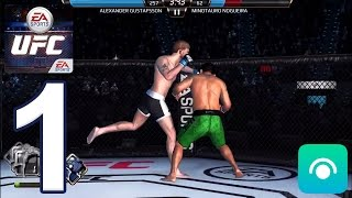EA SPORTS UFC Mobile - Gameplay Walkthrough Part 1 - HeavyWeight: Fights 1-5 (iOS, Android)