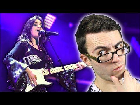 Camila Cabello... FAKE Guitarist?
