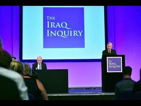 Sir John Chilcot unveils report into Iraq war