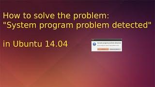 Ubuntu 14.04 solution for
