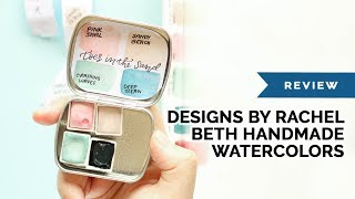 Product Review Designs by Rachel Beth Handmade Watercolors
