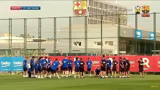LIHAT ⁉️ Latihan Pertama Pemain Baru BARCELONA : Griezmann, Frenkie de Jong, Neto Murara