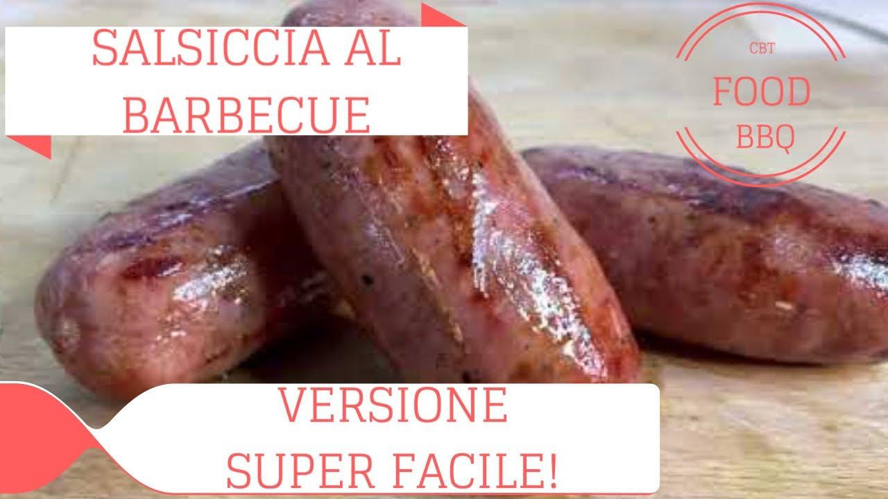 SALSICCIA AL BARBECUE (VERSIONE SUPER-FACILE!)