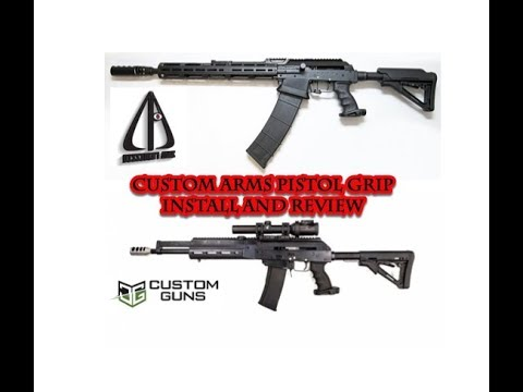 #Vepr12AllDay Best Russian Grip for AK Rifle/Shotgun!! Custom Arms  GripReview and Install!