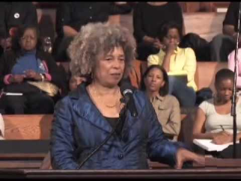 Angela Davis on Women, Privilege and Prisons Part I