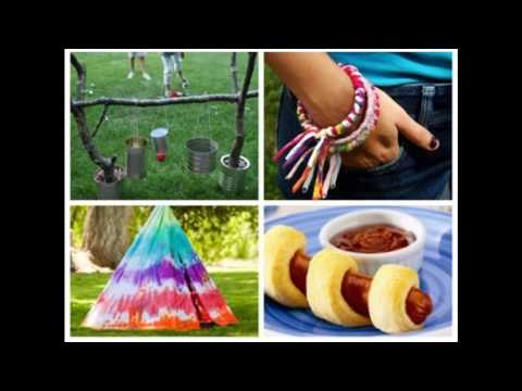 Easy Diy Camping Crafts For Kids Youtube