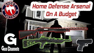 3-Gun Home Defense Arsenal on a Tight Budget:  On Location at Heber Gun