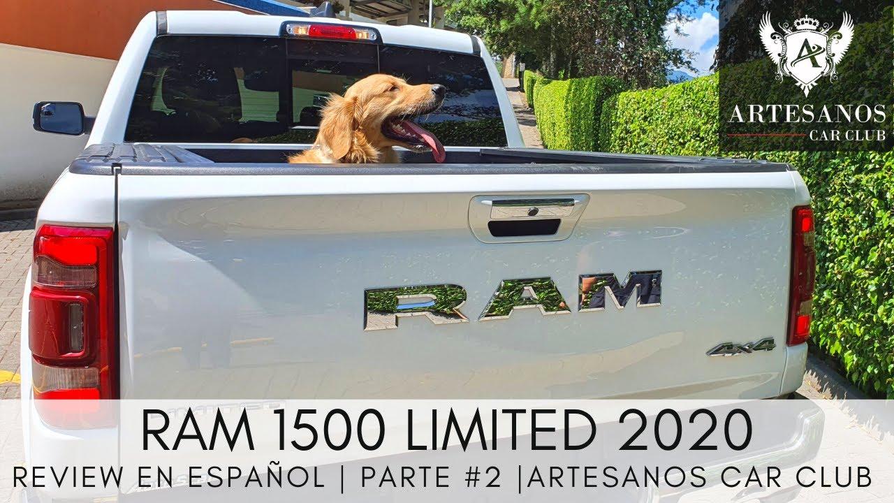 RAM 1500 Limited 2020   Review en español   Parte #2   Artesanos Car Club