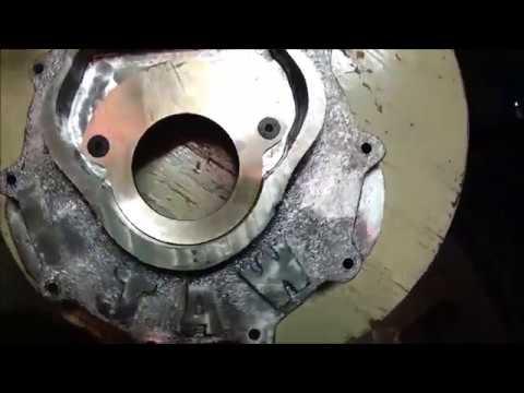 Antique Motorcycle Engine Build (Replica) Part 22 Bearing Retainer