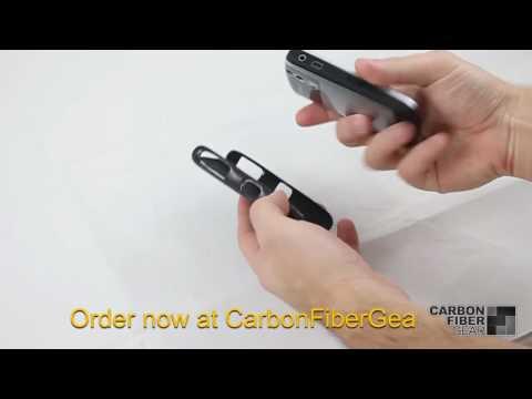 Carbon Fiber Gear's Carbon Fiber Blackberry Curve 8300 Case