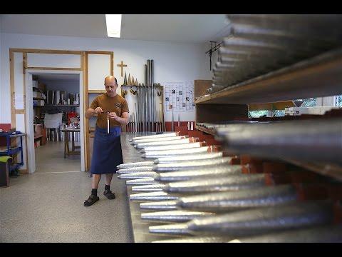 Stiftung Orgeltest (15): Pfeifengeburt in der Manufaktur Wörle in Syrgenstein