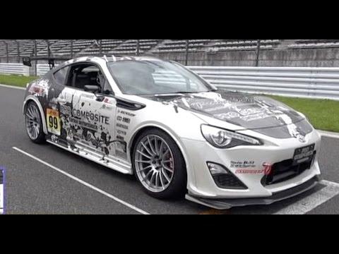 Toyota GT86 Tuner Battle at Fuji Speedway 2014Blitz86, HSR 86, rasty 86, Revolution 86