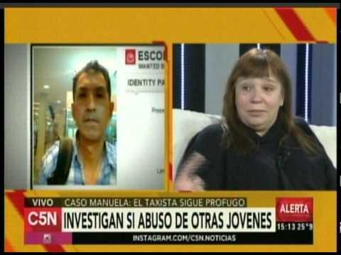 C5N - POLICIALES: TAXISTAS APORTAN NUEVOS ELEMENTOS A LA CAUSA MANUELA