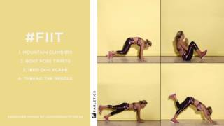 FIIT | 4 Moves to Work Your Core
