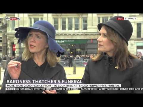 Blackburn Attends Funeral of Baroness Margaret Thatcher