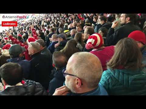 Arsenal 3-3 Liverpool | Goal Celebrations Inside The Emirates Stadium