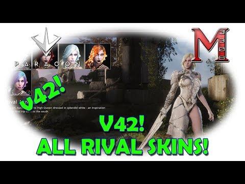 Paragon v42 Rival Skins   Early Look At All v42 Rival Skins!