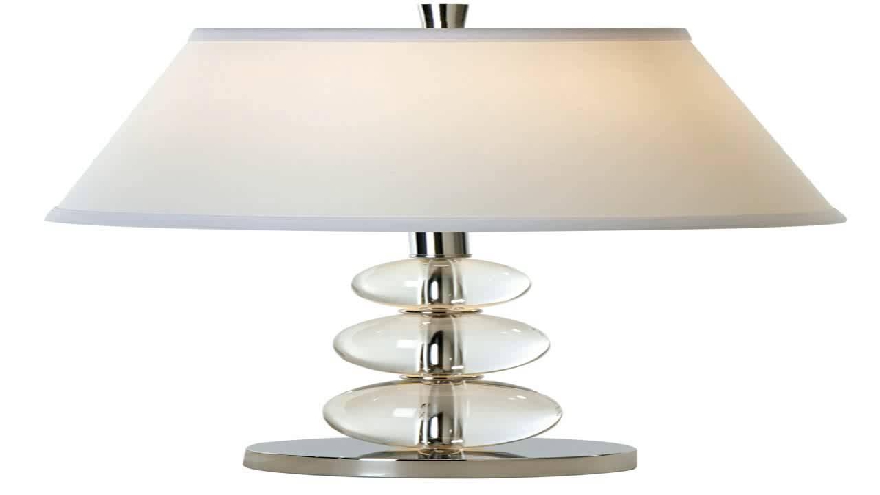 trend lighting  light palla table lamp crystalchrome  youtube - trend lighting  light palla table lamp crystalchrome