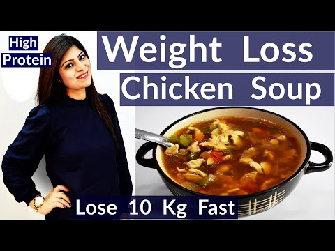 High Protein Soup For Weight Loss   Weight Loss Chicken Soup In Hindi   Magical Weight Loss Soup