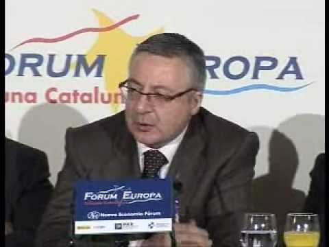 Fórum Europa Tribuna Catalunya con José Blanco