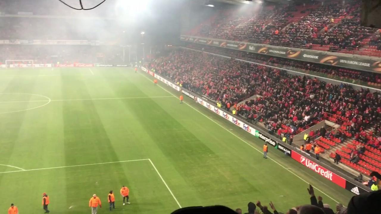 Standard Luik - Ajax (1-1) FAKKEL GEGOOID!