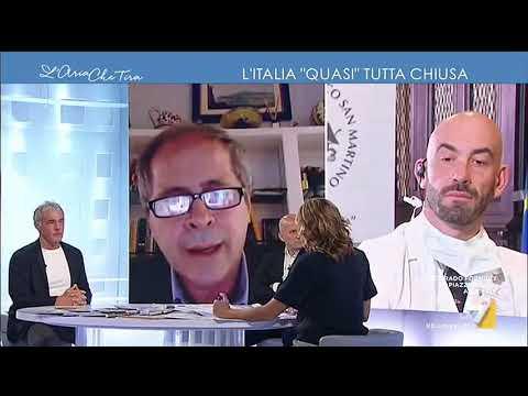 Il confronto tra l'infettivologo Matteo Bassetti e il virologo Andrea Crisanti: 'Come si ...