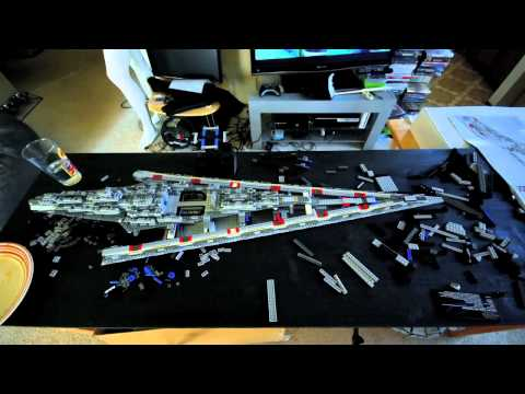 LEGO Super Star Destroyer Time Lapse