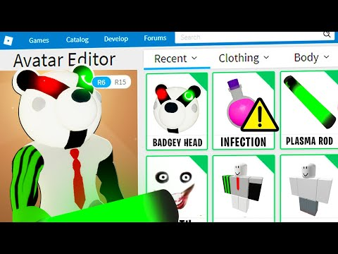 PIGGY DISGUISE TROLLING!!   Pretending To Be FAKE BADGY PIGGY In Roblox PIGGY!! [CHAPTER 12]