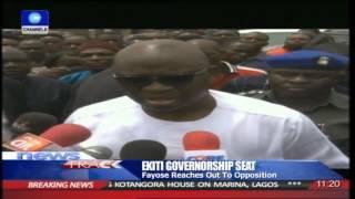 Ekiti State Governor, Fayose Asks For Forgiveness 15/04/15