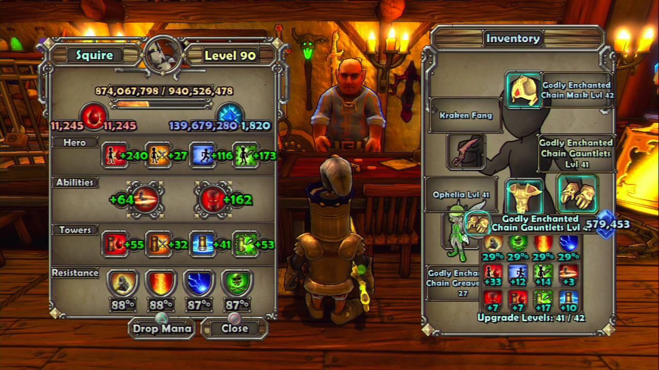 dungeon defenders armor