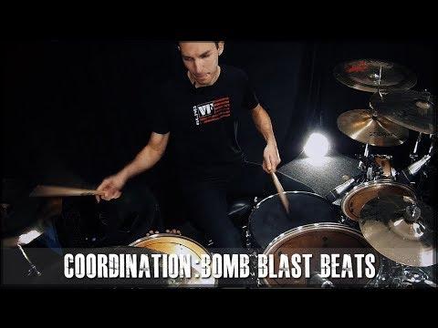 JamesPayneDrums.com - Bomb Blast Beat Coordination drum lesson preview