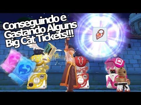 Ragnarok M Eternal Love: Summon Big Cat tickets!!! Ganhe vouchers!!! Recicle itens não usados!!! - Omega Play