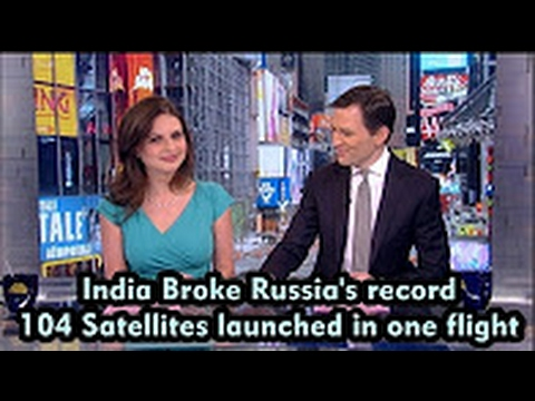 Arab Foreign Media Report on India   ISRO world record of 104 satellites