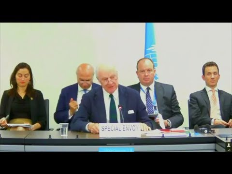 "UN Staffan de Mistura ""We need a thorough and independent investigation"""
