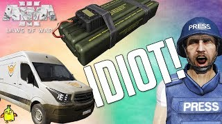 IDIOT PLAYS Arma 3 Law of war! Ep1
