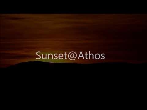 Sunset @ Athos