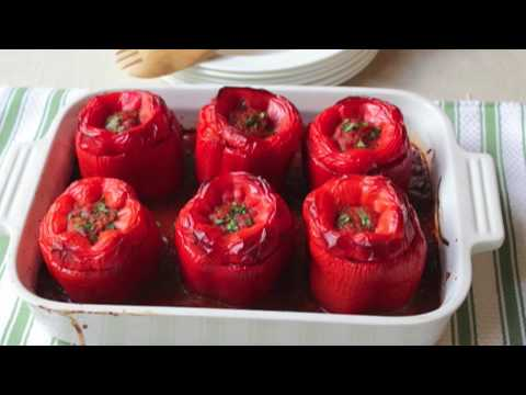 Food Wishes Recipes How to Make Stuffed Peppers Beef and Rice Stuffed Peppers Recipe