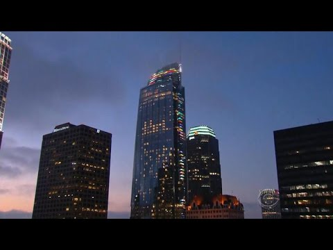 Thumbnail: Tallest building west of the Mississippi River opens in L.A.