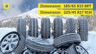 TCS test de pneus d'hiver 2016