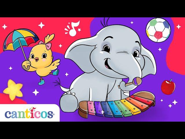 Canticos   10 Canciones infantiles para aprender inglés cantando!   Vocabulario para preescolar