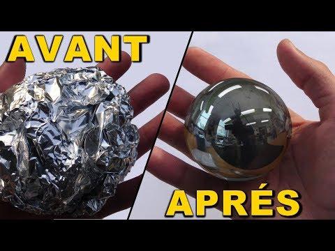 Faire une BOULE PARFAITE en Aluminium