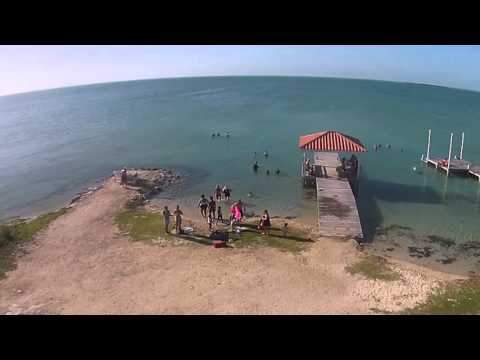 Secret Beach on Ambergris Bay Belize