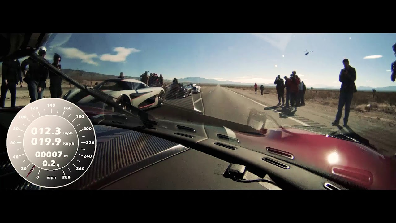 Koenigsegg Agera RS - NEW WORLD RECORD - Fastest production car in ...