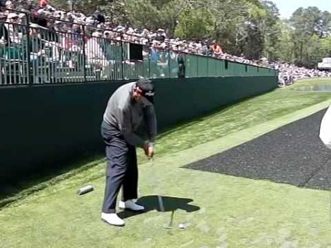 ANGEL CABRERA SLOW MOTION 16th HOLE MASTERS 2009