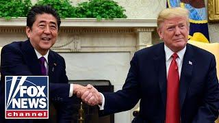 President Trump, Japan PM Abe hold bilateral meeting