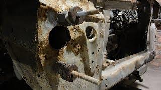 видео Ваз 2109: замена рамки радиатора своими руками