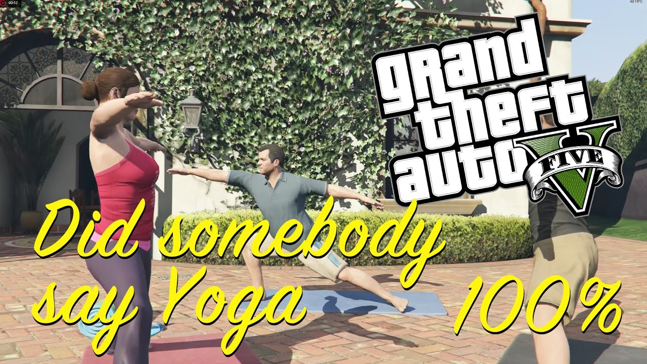 Gta   Completion Did Somebody Say Yoga Mission Gameplay Walkthrough