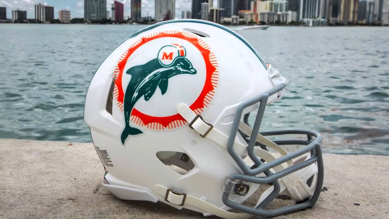 Image result for Miami Dolphins retro helmet