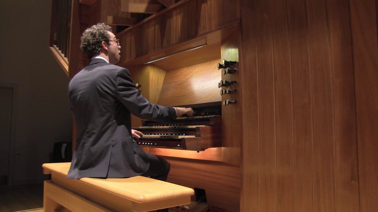 "J.S. Bach – I. ""Vivace,"" from Trio Sonata No. 6 in G Major, BWV 530 | Raymond Hawkins"