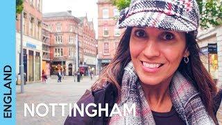 Trip to Nottingham, England | UK travel vlog